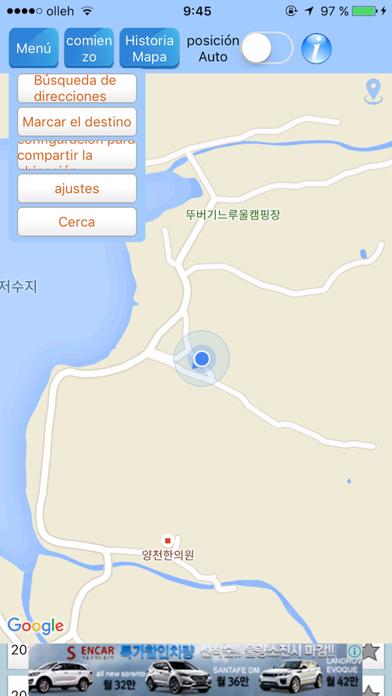 Tracer RouteCaptura de pantalla de1