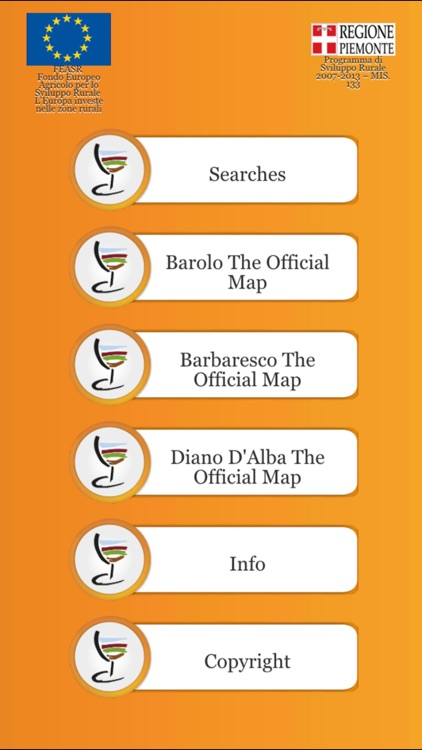 Barolo Official Map