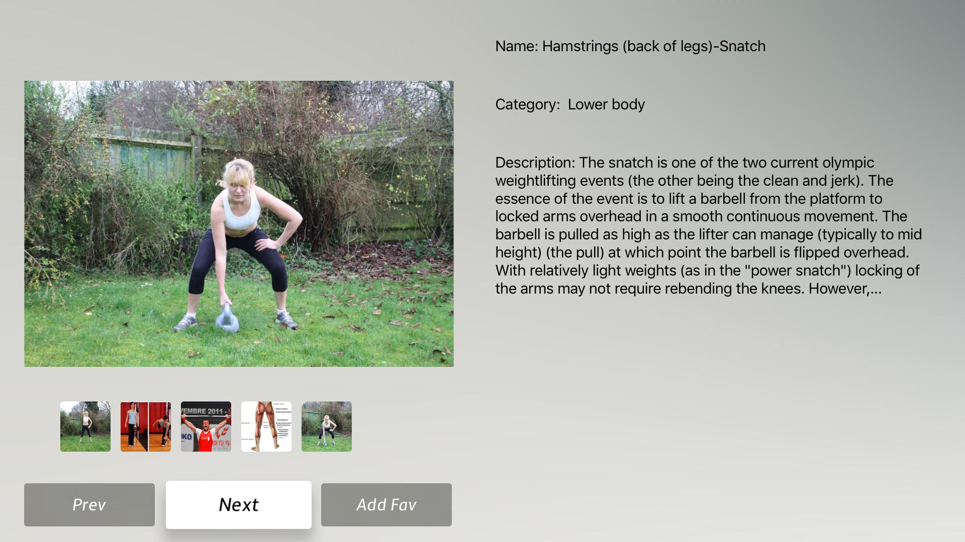 Body Building Exercises + screenshot 17