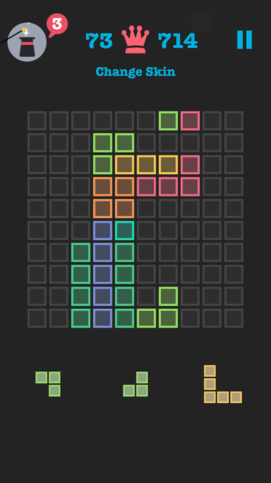 Free to Fit: Color block puzzle logic stack dots Screenshot