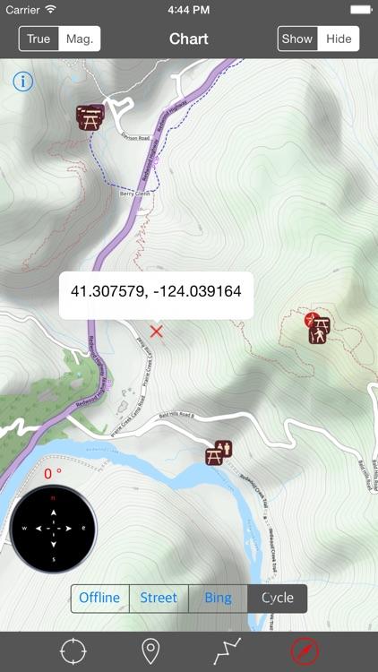 Redwood National Park – GPS Offline Park Map Navigator