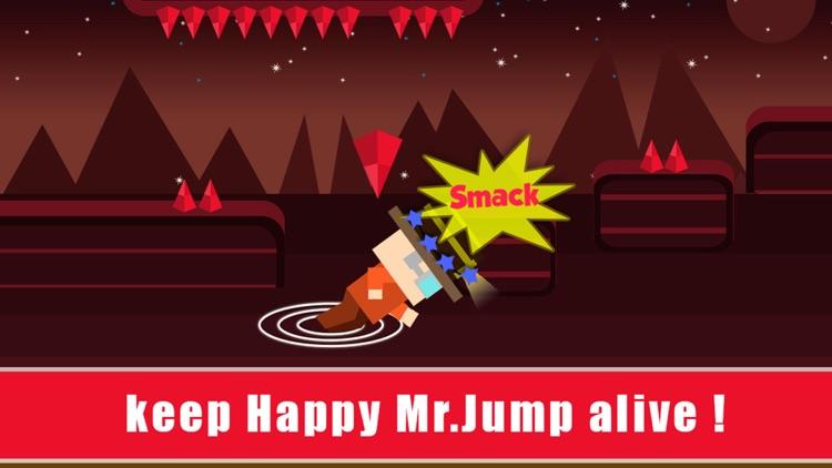 Happy Mr Jump Night Mode - Endless Arcade Running Game screenshot-4