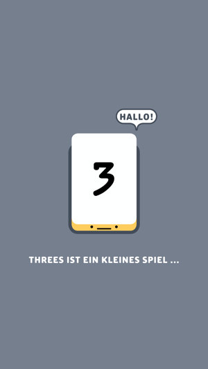 ‎Threes! Screenshot