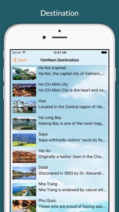 Vietnam Travel Tip screenshot three