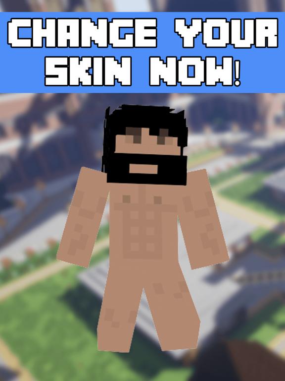 minecraft nude skins