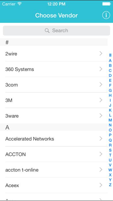 WiFi & Router Password Finder 2: Default passwordsのおすすめ画像1