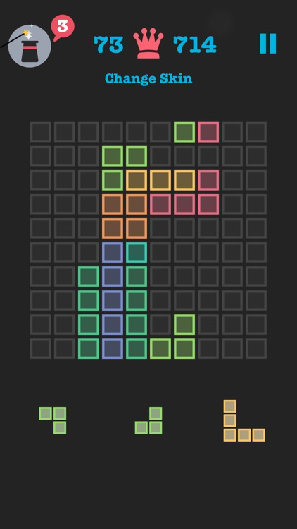 Free to Fit: Color block puzzle logic stack dots screenshot-1