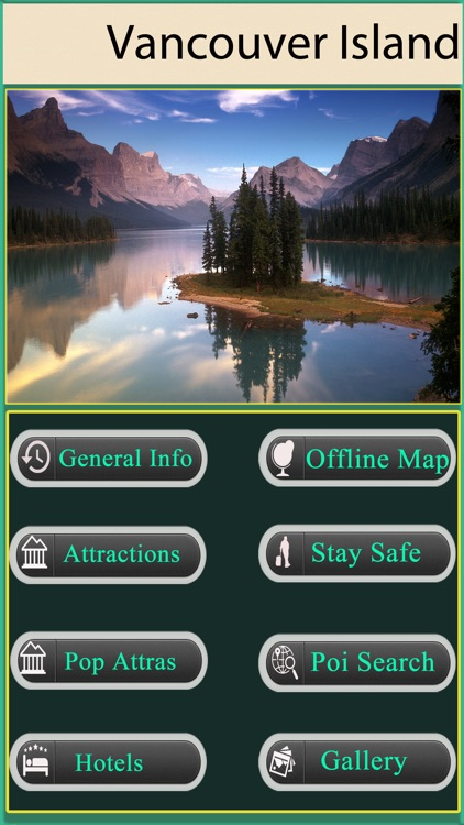 Vancouver Island Offline Map Guide screenshot-0