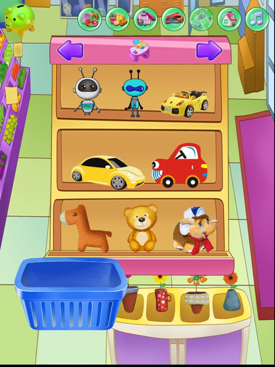 Baby Supermarket:Grade 1 Math Games-Candy Elementary School:USD Coins Counter,Addition and Subtraction HD!