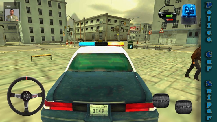 Police Car Sniper screenshot-3