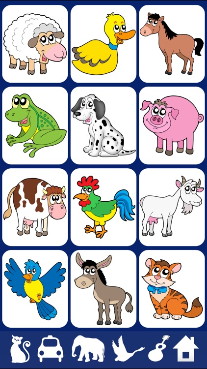Sound Touch Lite - Play baby games & animal photos screenshot-0