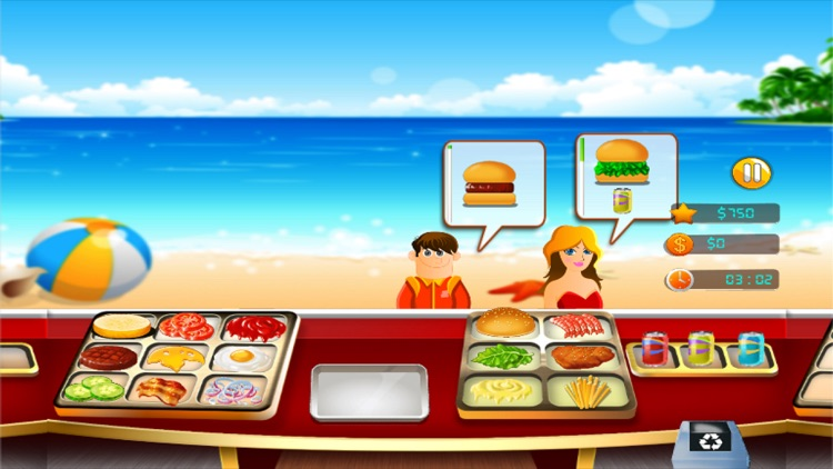 Burger Cooking Restaurant Maker Jam - Fast Food Match Game for Boys and Girls