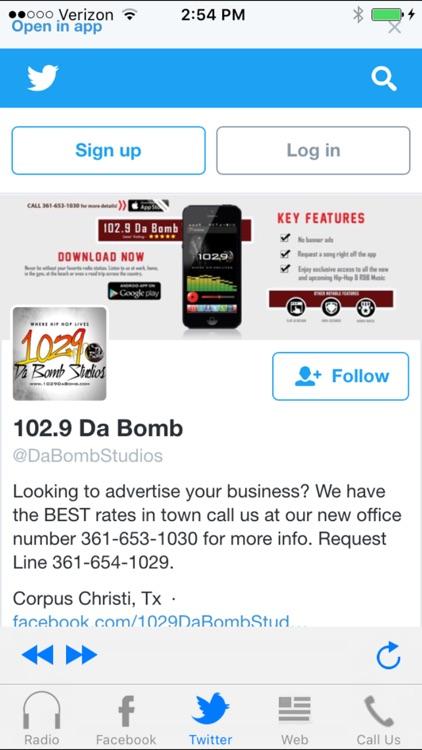 102.9 Da Bomb screenshot-3