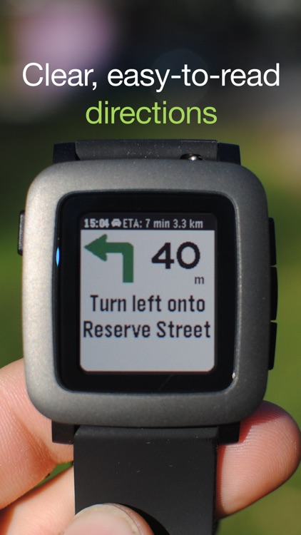 MapsGPS for Pebble - Smartwatch maps and directions