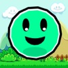 Jumpy Smiley - The endless adventures of a bouncing skippy geometry ball - iPhoneアプリ