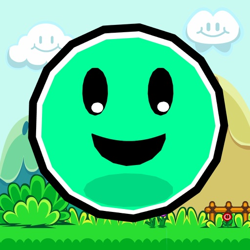 Jumpy Smiley - The endless adventures of a bouncing skippy geometry ball