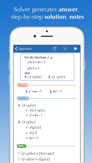 FX Math Solver on the App Store