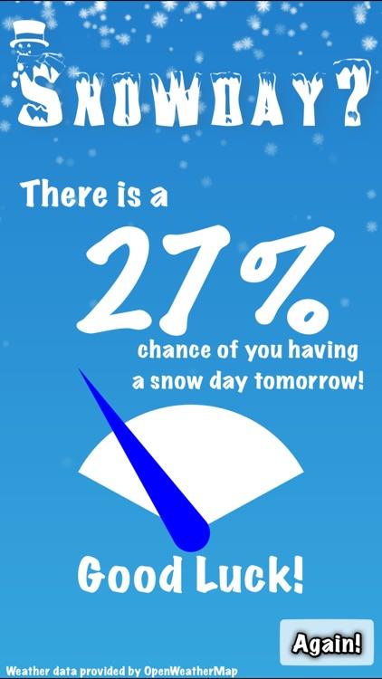 Snowday?
