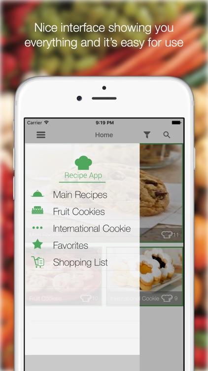 Cookies Recipes - Find All Delicious Recipes screenshot-3