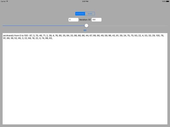 Screenshot #5 pour arc4rand()