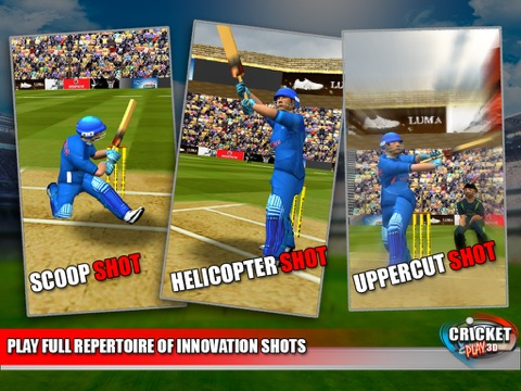 Cricket Play 3D - Live The Game (World Pro Team Challenge Cup 2016)-ipad-2