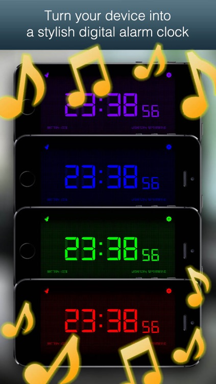 Digital Alarm Clock Simple