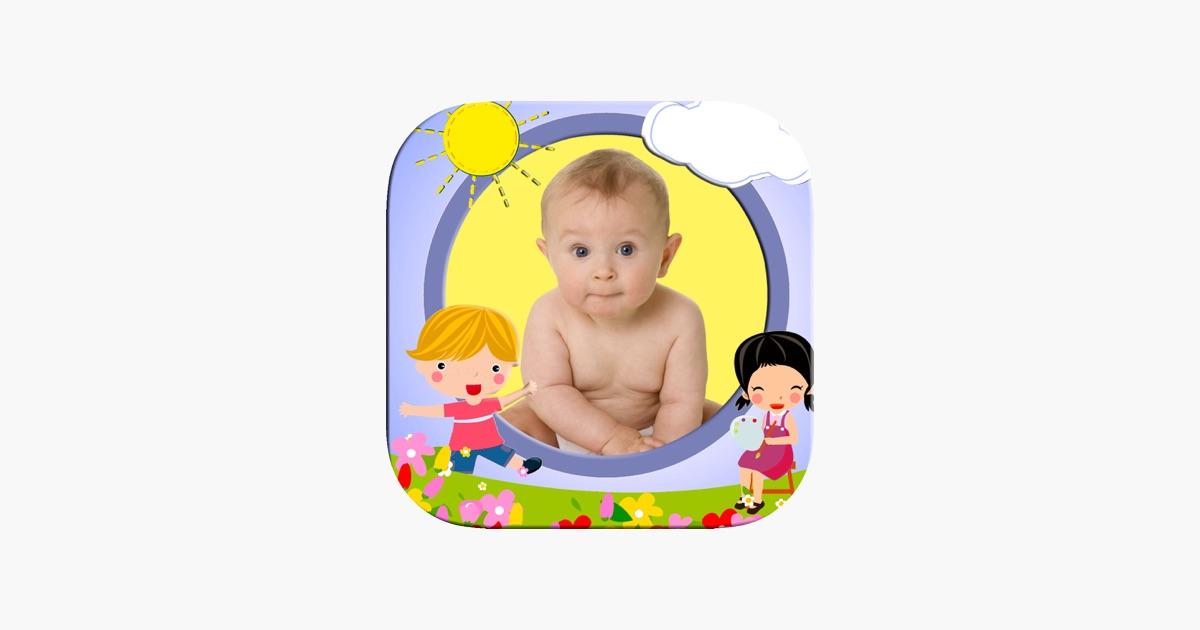 Fotorahmen für Kinder mit Kinderzeichnungen im App Store