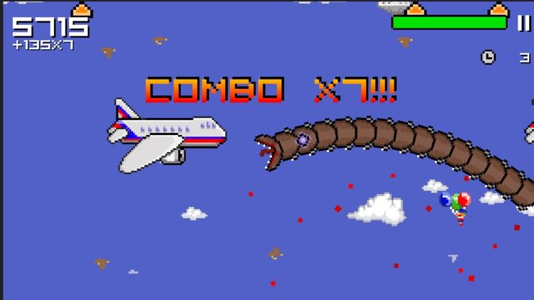 Super Mega Worm screenshot-4