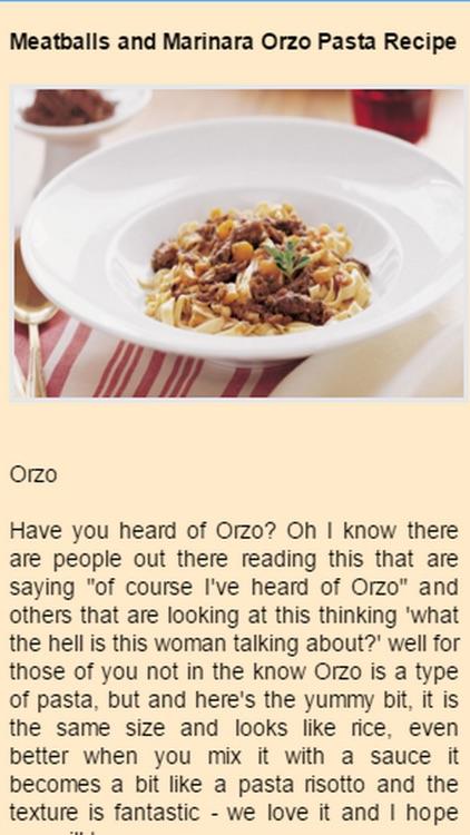 Orzo Recipes