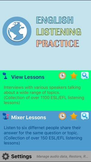 English Listening Practice - World Talks on the App Store