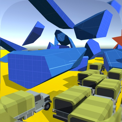 Cluster Traffic: Parkour Truck iOS App