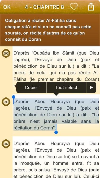 Sahih Muslim Audio mp3 en Français et en Arabe (Lite) - +1700 Hadiths - صحيح مسلم screenshot-4