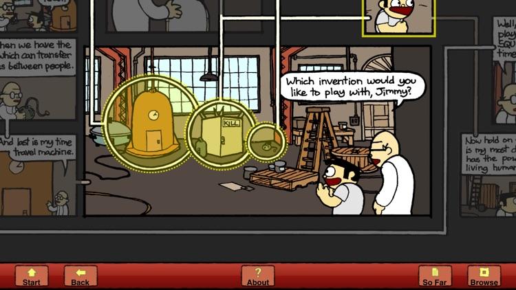 Meanwhile: An Interactive Comic Book