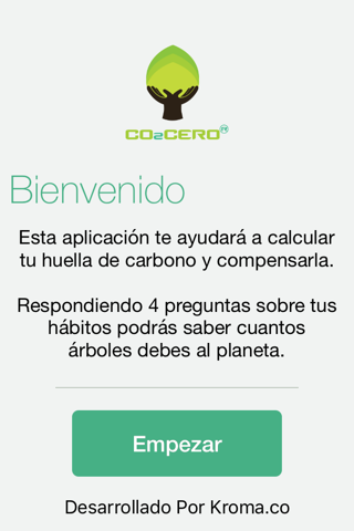 CO2CERO screenshot 2