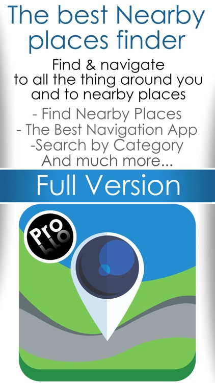 A Nearby places finder - Find whats near me , navigation maps plus travel guide screenshot-0