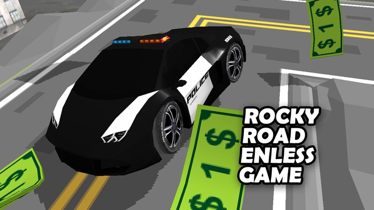 3D Zig-Zag  Car -  On The Run with Maze Road Racing Game