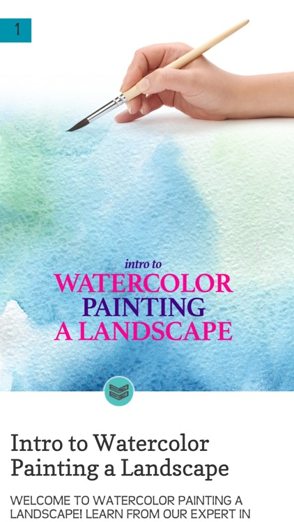 Watercolor Painting a Landscape screenshot-1