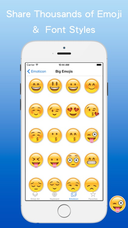 BitEmoji - Free Extra animated emojis icons & Emoticons stickers Art & Cool fonts text keyboard screenshot-4