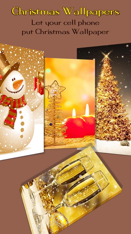Christmas Wallpapers & Backgrounds Pro - Xmas Tree, Cards, Light & Santa Claus Retina Images screenshot-4
