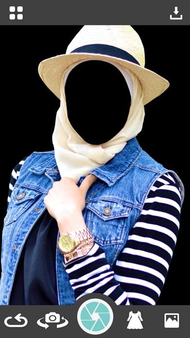 Hijab Woman Photo Making - Montage screenshot two