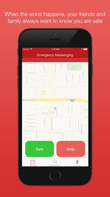 Tinad - Emergency Messenger