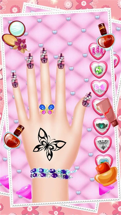 Fashion Nail Salon And Beauty Spa Games For Girls Princess