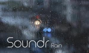 Soundr Rain - Scenic Video Loops