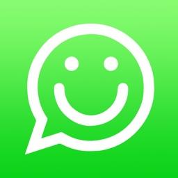 Stickers for WhatsApp, Messages, WeChat, Instagram, Kik, Telegram!