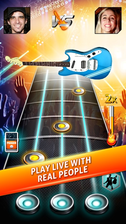 Rock Life - Guitar Band Revenge of Hero Rising Star screenshot-0