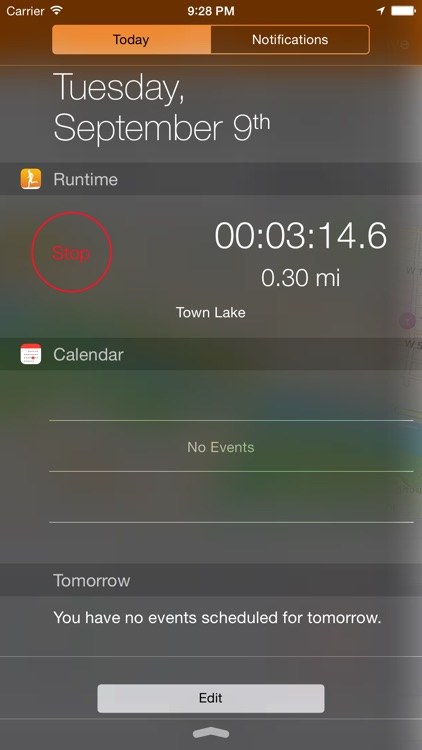 Runtime - Simple Run Tracking
