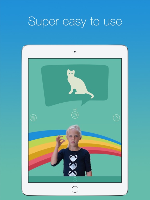 ASL Kids - Sign Language-ipad-1