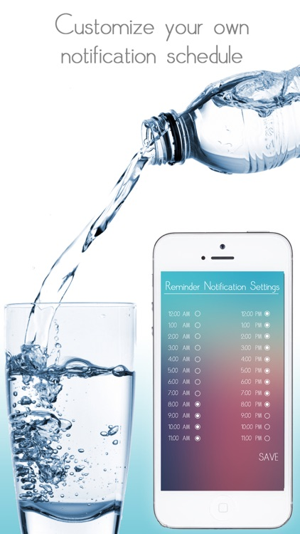 Water Tracker - Daily hydration tracker, intake counter, water logger, daily water tracker and water reminder screenshot-3