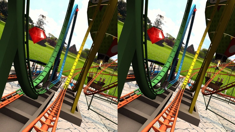 VR Crazy Roller Coaster Simulator
