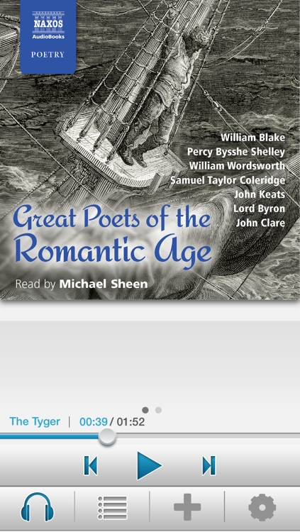 Great Poets of the Romantic Age: Audiobook App